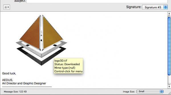 Измененный размер вложенного изображения
