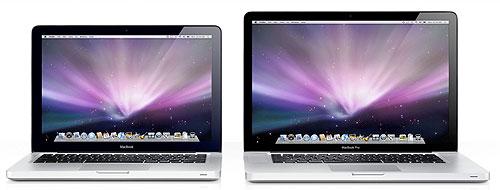 Новые лэптопы от Apple