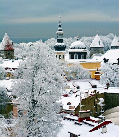 Сказочный Таллинн